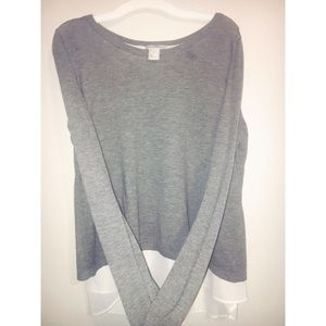 Soft sweater-blouse